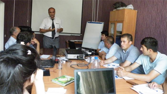 Отдел повышения квалификации работников водного сектора